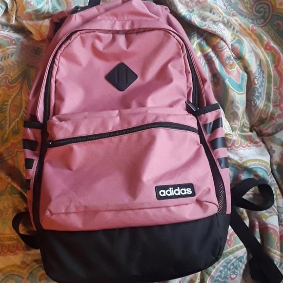 43f9c9ca010b Pink Adidas backpack